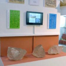 crystal exhibit, Hasli Museum, Meiringen, Switzerland