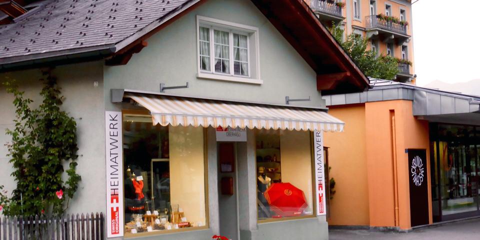 Heimatwerk shop, Meiringen, Switzerland