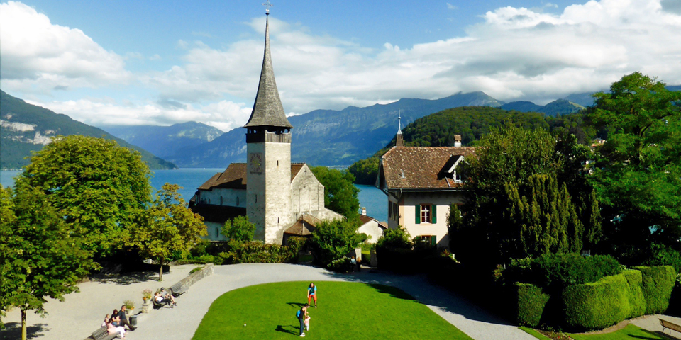 Spies Castle Church, Spiez, Switzerland