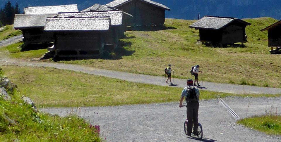 bike rentals, Mägisalp, Switzerland