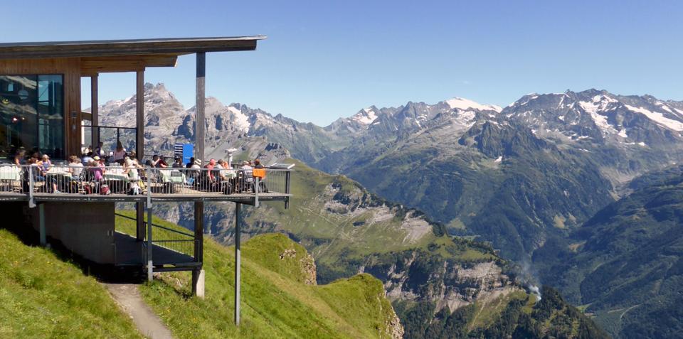 Alpen Tower Restaurant, Planplatten, Switzerland