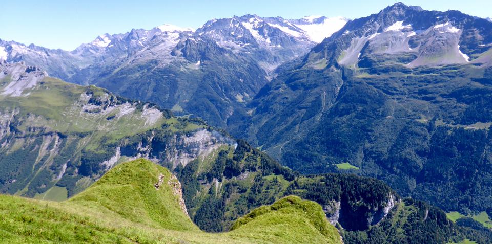 view from Planplatten, Switzerland