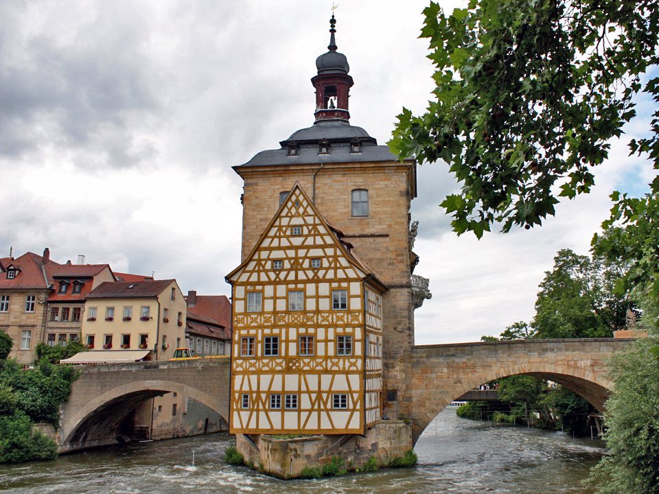 Old Town Hall in Bamberg, A UNESCO World Heritage Site