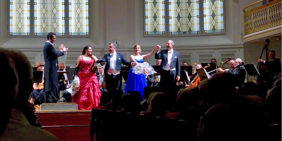 Mozart and Strauss concert, Vienna, Austria