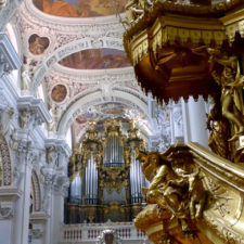 Organ concert, St. Stephan's Cathedral, Passau, Germany