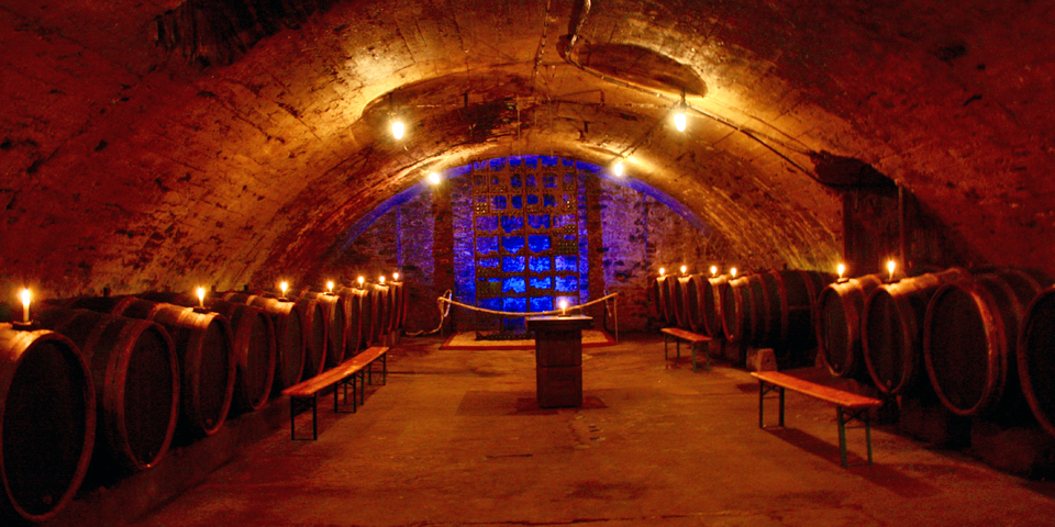Moselle Valley wine cellar