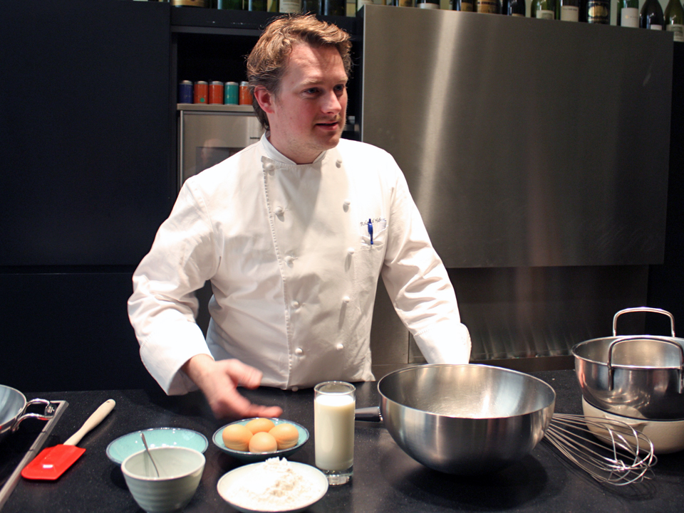 cooking demonstration, Vienna