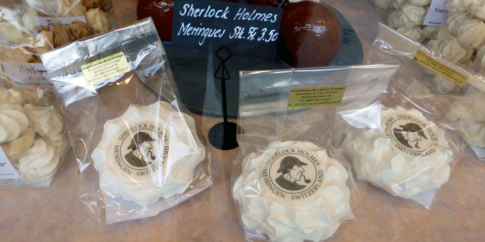 meringues featuring Sherlock Holmes, Meiringen
