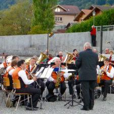 brass band, Brienz Folk Concert, Brienz, Switzerland