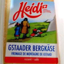 cheese in our apartment in Meiringen, Switzerland