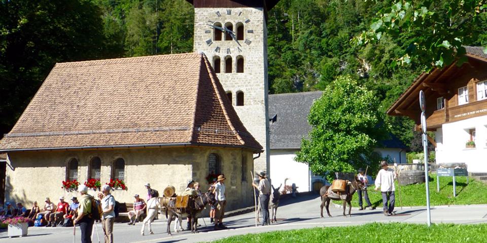Säumerfest 2016, Meiringen, Switzerland