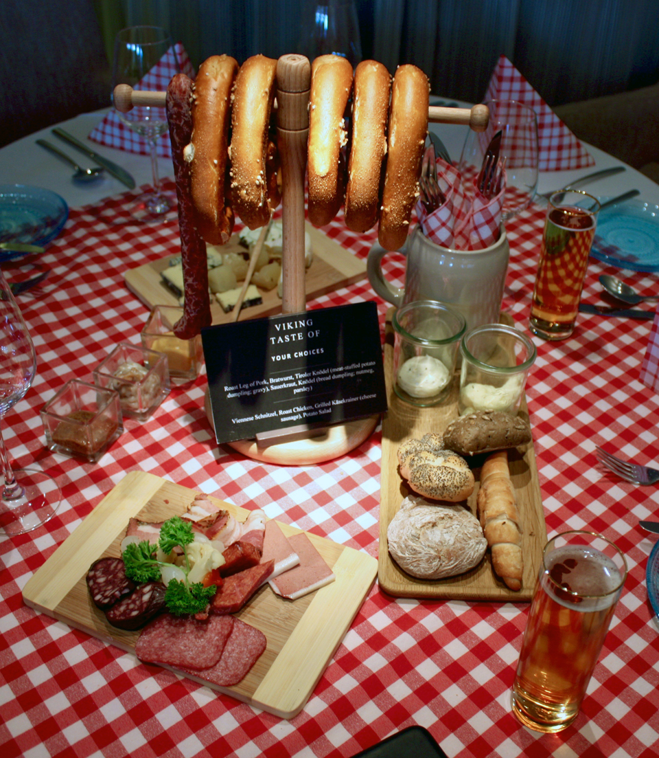 A Taste of Germany night, Viking River Cruises
