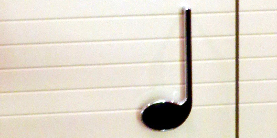 musical note doorknobs, Hote; Schweizerhof, Lucerne, Switzerland