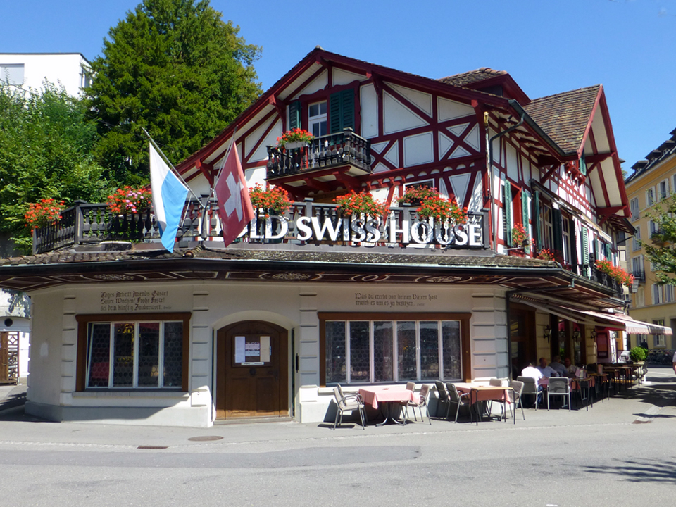 Old Swiss Restaurant, Lucerne, Switzerland