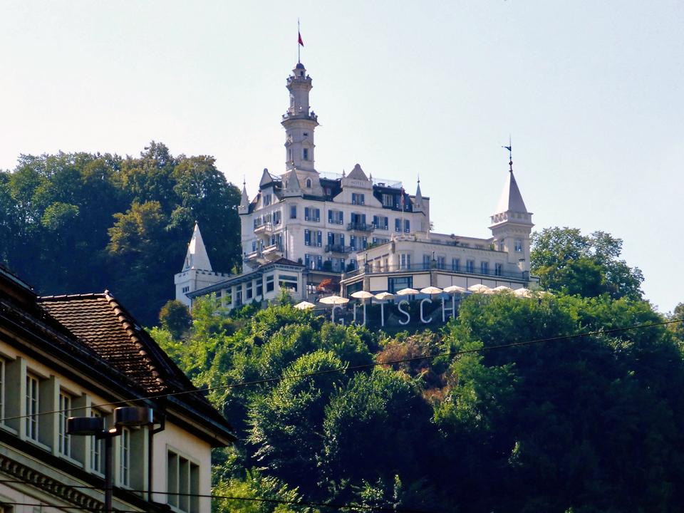 Hotel Gütsch, Lucerne