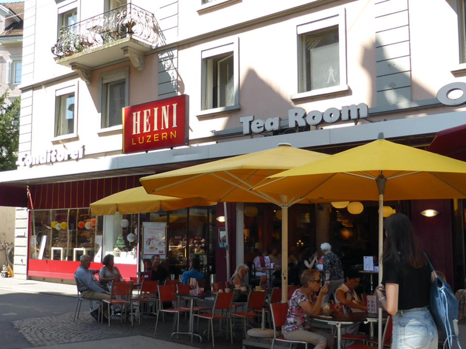 Heini Tea Room, Lucerne