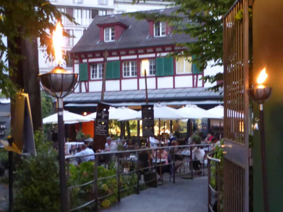 The four-star Hotel Hofgarten in Lucerne offers several fine dining options.