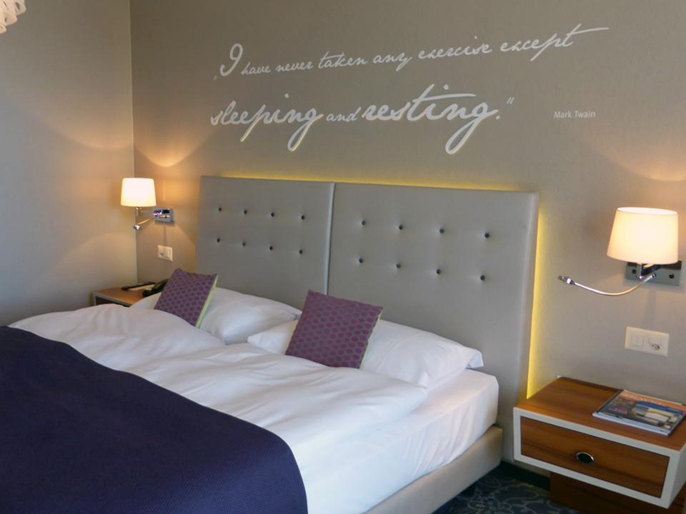Mark Twain room, Hotel Schweizerhof, Lucerne