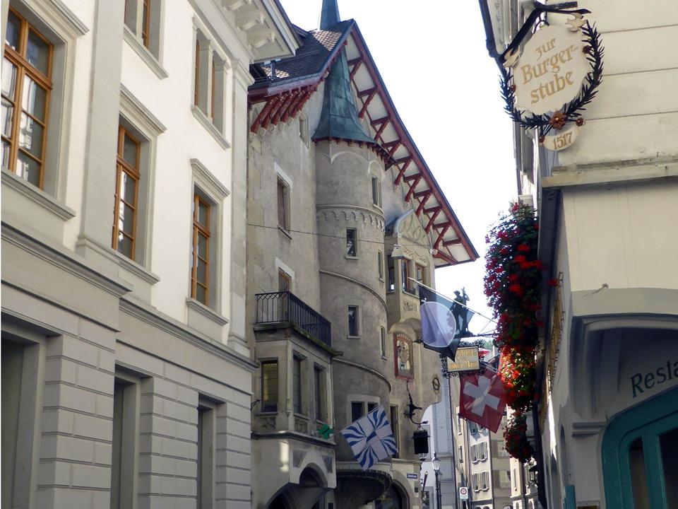 Hotel Vilden Mann, Lucerne