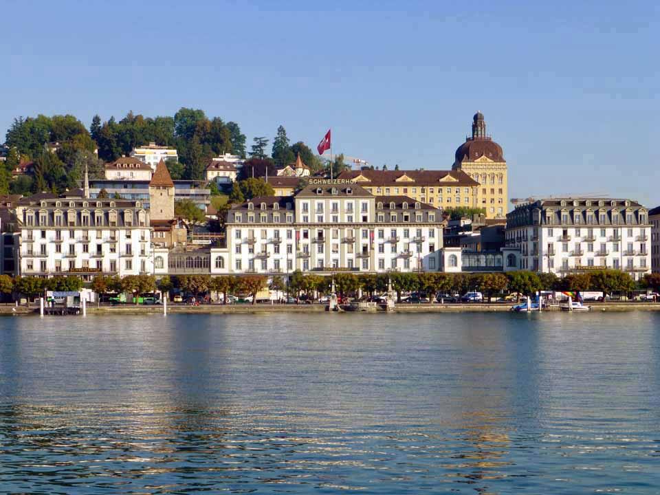 Schweizerhof Hotel, Lucerne, Switzerland