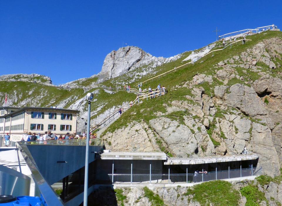 Visitor Center, Mt. Pilatus, Switzerland