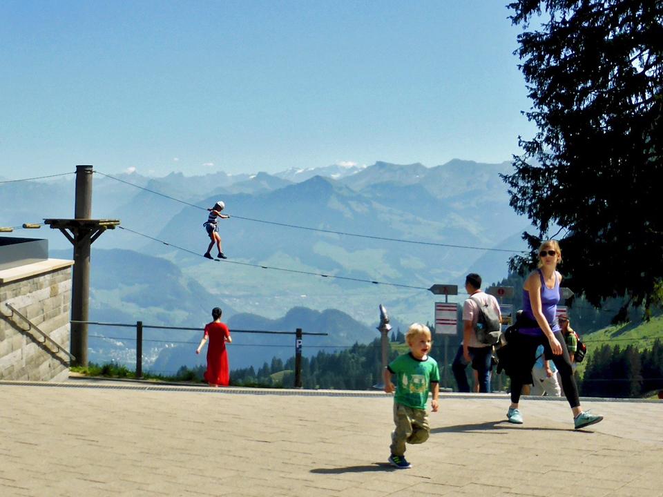 Pilatus Rope Park, Kriens/Lucerne, Switzerland
