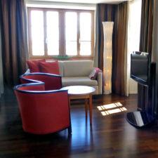 Drachenstein suite, Hotel Pilatus-Kulm, Mt. Pilatus, Switzerland
