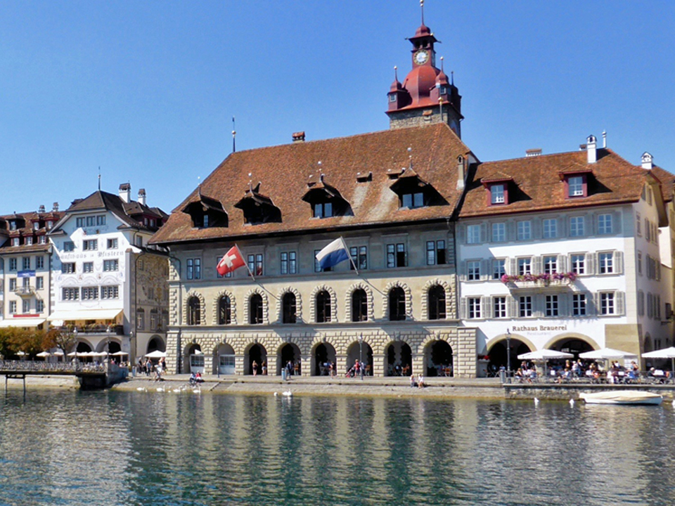 Old Town Hall, Lucerne, Switzerland