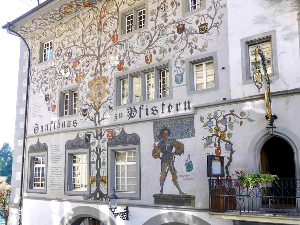 Zunfthaus Pfistern, Lucerne