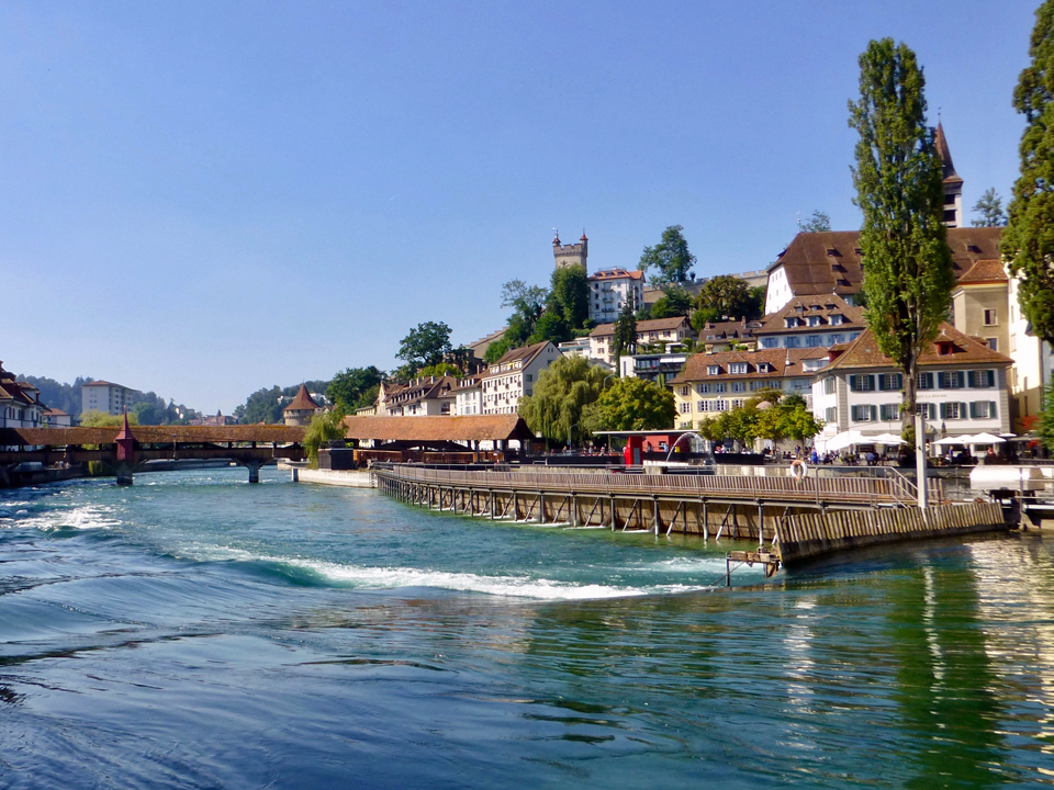 needle weir, Lucerne, Switzerland