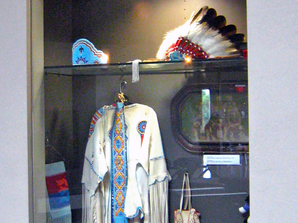 Pawnee Nation Display, Standing Bear Museum, Oklahoma
