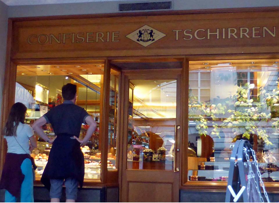 Confiserie Tschirren, Bern, Switzerland.