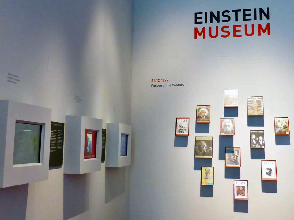 Man of the Year, Einstein Museum, Bern, Switzerland