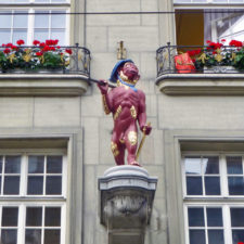 Guild house zum Affen (Monkey), Bern, Switzerland