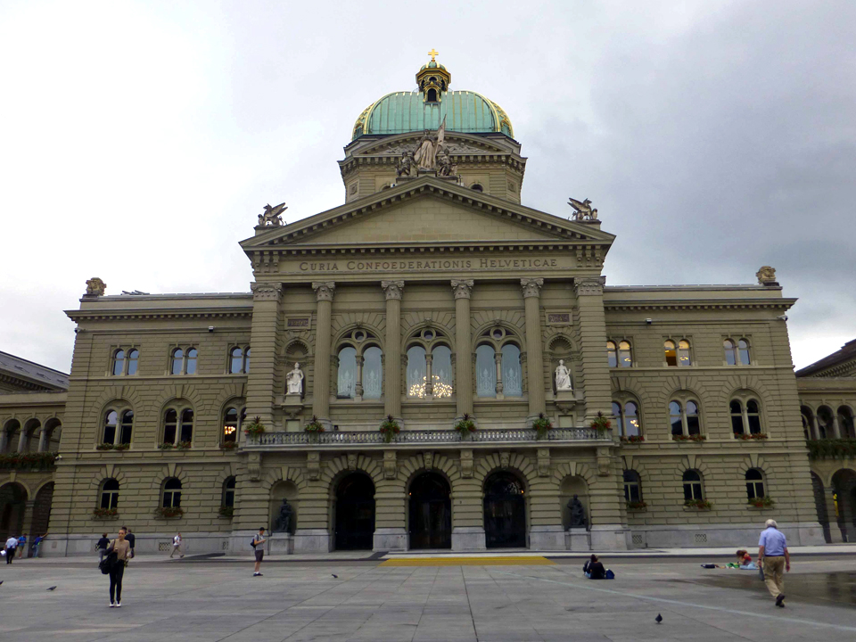 Federal Palace, home to Parliament, Bern, Switzerland