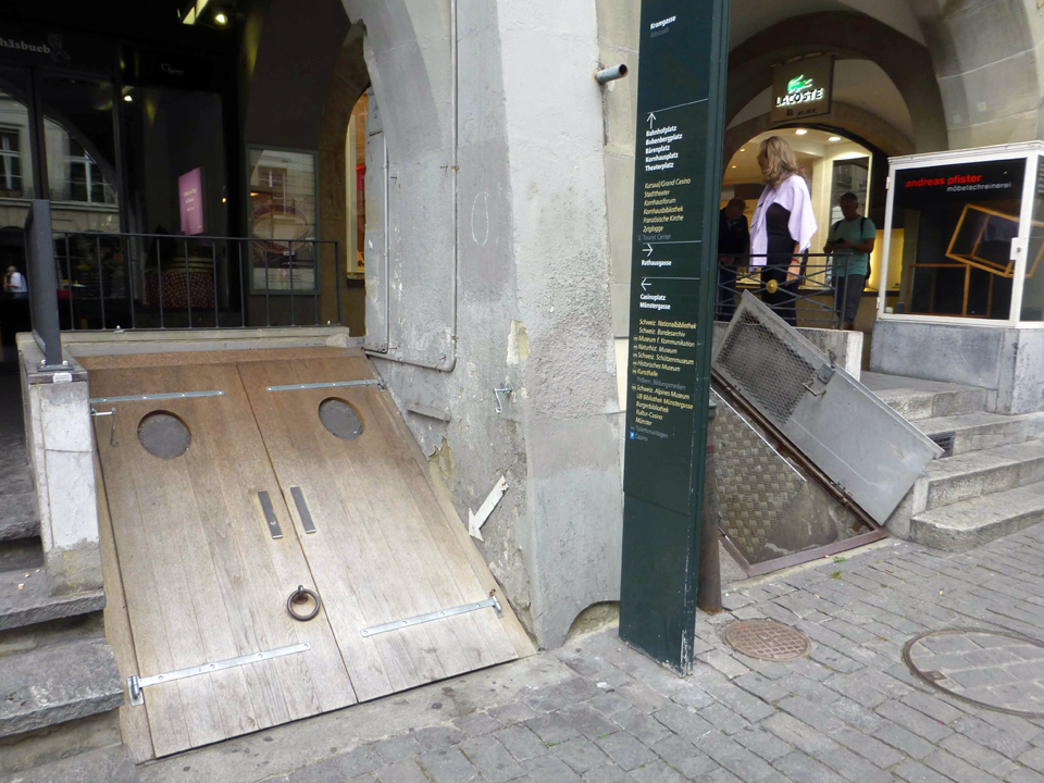 cellar doors, Bern, Switzerland