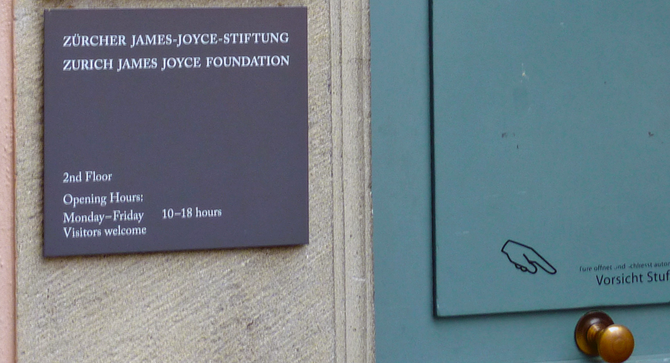 James Joyce Foundation, Zurich