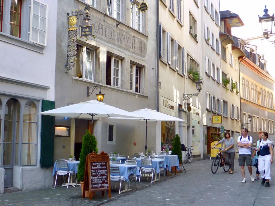 Oepfelchammer, Zurich