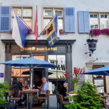Zunfthaus cafe, Old Town, Zurich