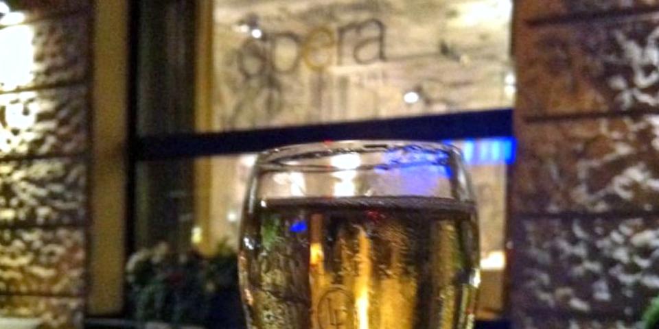 Champagne, Restaurant Opéra, Zurich