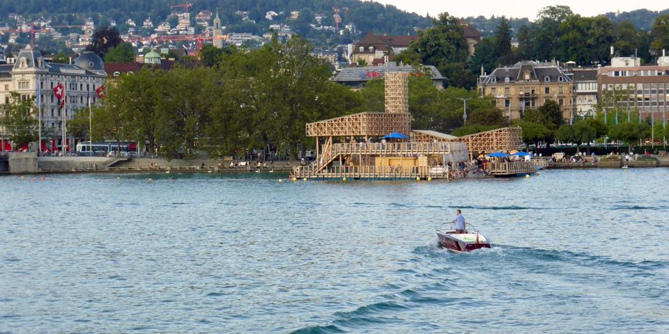 Pavilion of Reflection, Zurich