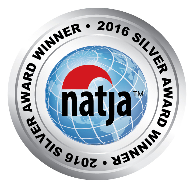 2016 NATJA Award Seal