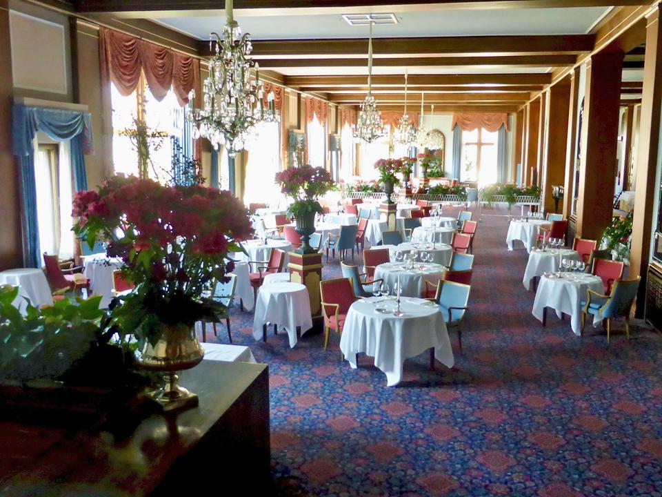 Le Restaurant, Badrutt's Palace, St. Moritz