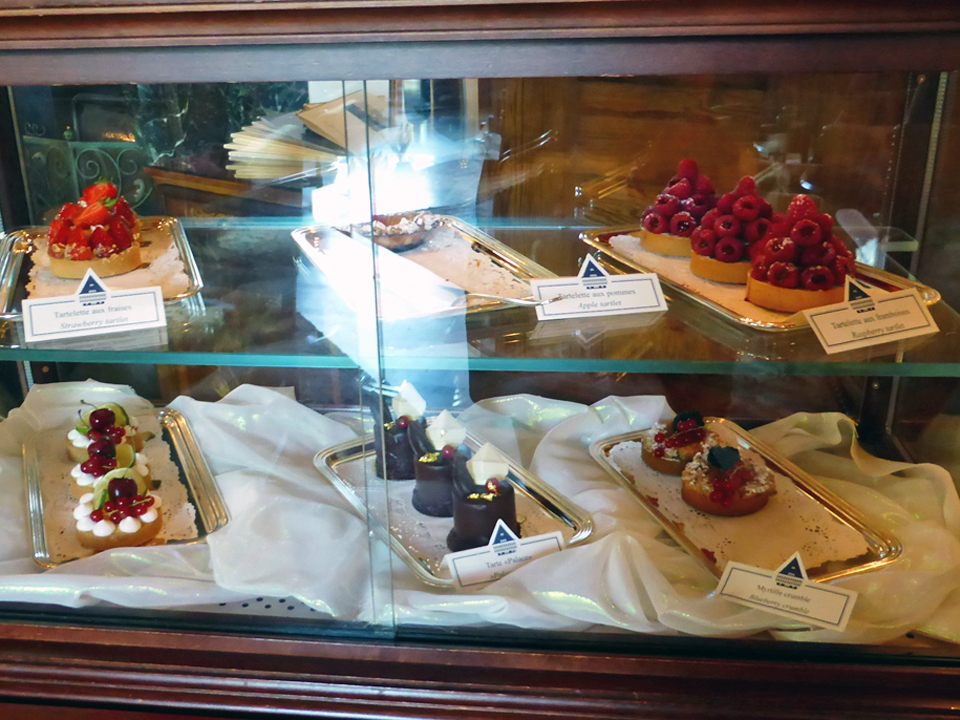 sweet treats at Afternoon Tea, Badrutt's Palace, St. Moritz