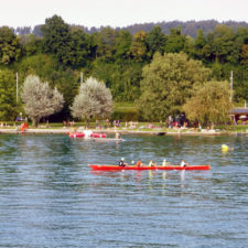 boaters, Lake Zurich