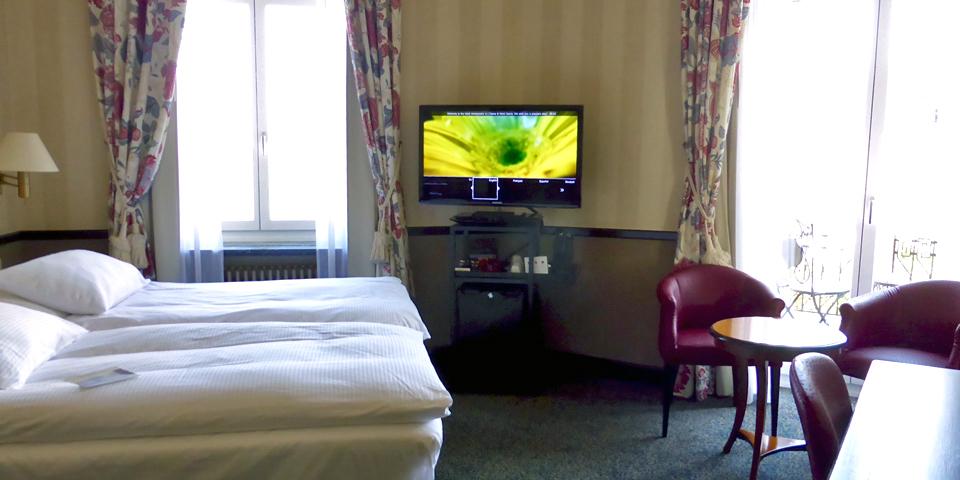 guest room, Hotel Ambassador, Zurich