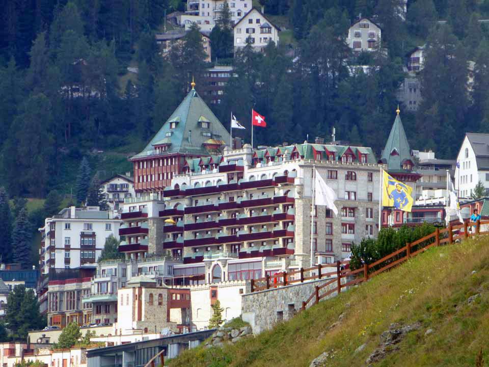 Badrutt's Palace, St. Moritz, Switzerland