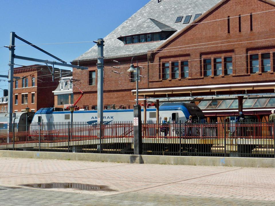 Amtrak, Union Railway Station, New London, Connecticut