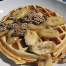 Banana Fosters Waffles, Fatboy's, New London, Connecticut