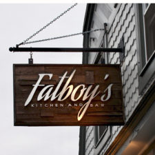 Fatboy's sign, New London, Connecticut